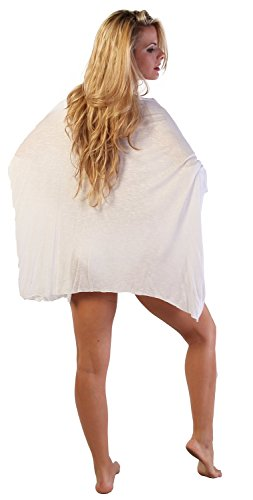 Ingear Draped Poncho Blanco