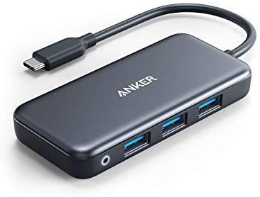 Anker 5-in-1 Premium USB-C Hub 1 Gbps Ethernet USB 3.0 HDMI For Mac//C *Japan new