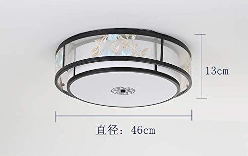 Lámpara de techo de estilo chino, sencilla, moderna, sala de estar, restaurante