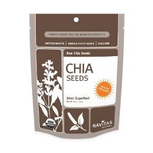 Price comparison product image Navitas Naturals Chia Seeds Aztec Superfood,  16 Ounce Pouch ( Multi-Pack)