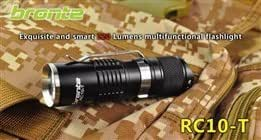 Bronte Exquisite and Smart 220 Lumens Multifunctional Flashlight RC10-T