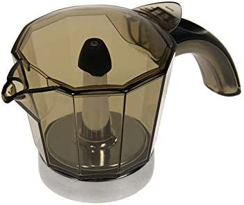 De Longhi - Jarra y tapa para cafetera moka eléctrica Alicia de 4 tazas EMK4: Amazon.es: Hogar