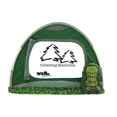 Picture Frame, Camping Hiking Dome Tent, Holds a 4x6-inch Photo