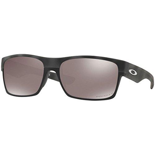 Oakley Men's Twoface Polarized Square Sunglasses, Black Camo, 60.5 - Oakleys Polarized Camo