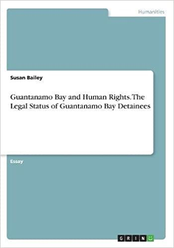 Buy Guantanamo Bay And Human Rights The Legal Status Of Guantanamo  Buy Guantanamo Bay And Human Rights The Legal Status Of Guantanamo Bay  Detainees Book Online At Low Prices In India  Guantanamo Bay And Human  Rights The
