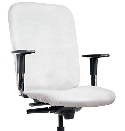 CLEANCHAIR 5 Pieces, Cover for Office Chairs, backrest and seat