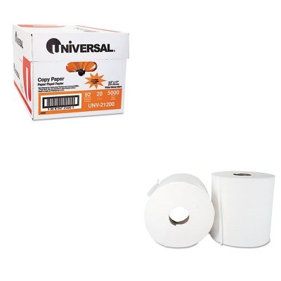 KITBWK6400UNV21200 - Value Kit - Boardwalk 6400 Two-Ply Center Pull Paper Towel (BWK6400) and Universal Copy Paper (UNV21200)