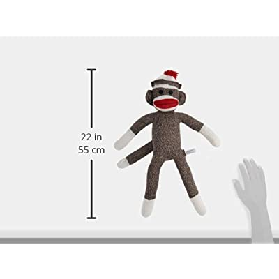 Schylling Sock Monkey: Toys & Games