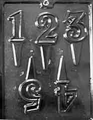 number 1 candy mold - 8