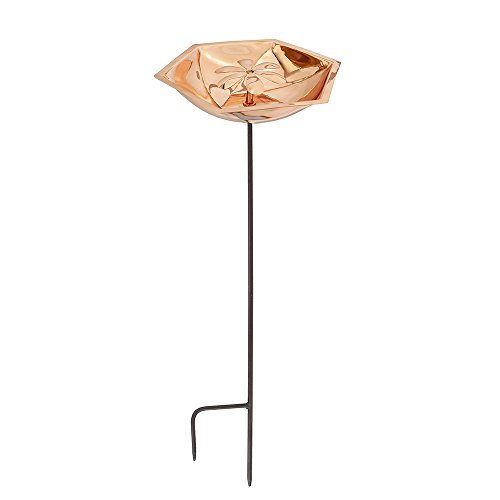 Achla Designs Copper Bee Fountain & Birdbath with (Bee Bath)