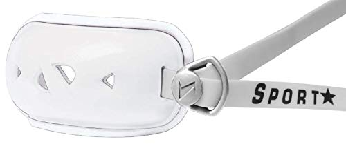 SportStar Youth Rx Hurricane Gel Chinstrap (White, XS)