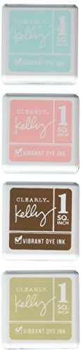 Kelly Purkey Dye Inks 4 Color Cubes-Coffee & Donuts