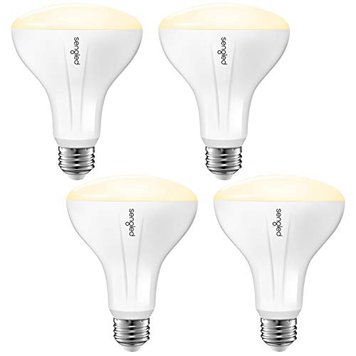 Sengled Smart Light Bulb Works with Alexa and Google Home, BR30 Dimmable Soft White 2700K, Alexa Light Bulbs 65W Equivalent, 650 Lumen LED Light Bulbs with E26 Base, 2.4G and 5G, Hub Required, 4 Pack