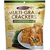 Crunchmaster Roasted Vegetable Multi Grain Cracker, 4.5 Ounce - 12 per case