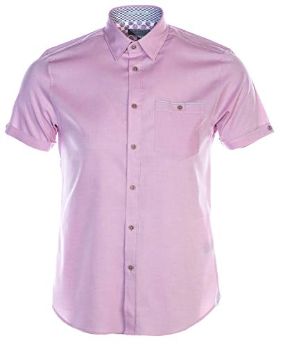 Ted Baker Wallaby Short Sleeve Shirt in Pink