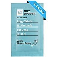 RX Nut Butter, Vanilla Almond Butter, 1.13oz Packs, 10 Count