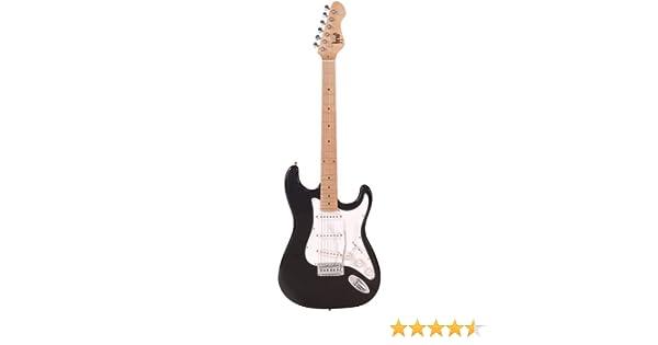 Herald HLD011 Guitarra eléctrica - color negro: Amazon.es: Instrumentos musicales