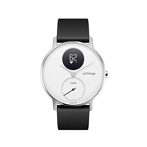 Withings / Nokia | Steel HR Hybrid Smartwatch – Activity Tracker with Connected GPS, Heart Rate Monitor, Sleep Monitor, Water Resistant Smart Watch with 25-day battery life