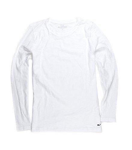s Slub Shirt Long Sleeve Whale Logo Tee (S) ()