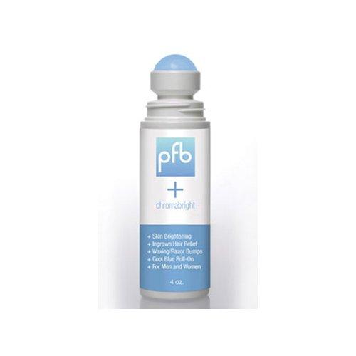 PFB Vanish + Chromabright pour poils incarnés et éclaircissement de la peau en un! 4 oz / 120 ml.
