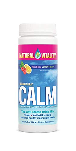 Calm Mama Raspberry (Natural Vitality Natural Calm Diet Supplement, Raspberry Lemon, 8 Ounce,Pack of 1)