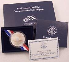 2006 S San Francisco Old Mint Commemorative Dollar Proof US (San Francisco Old Mint Proof)