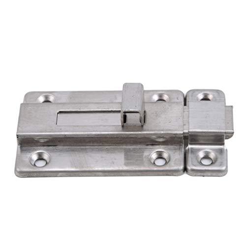Bolt Barrel Decor - GOMYIE Stainless Steel Door Latch Sliding Lock Barrel Bolt(3 inches)