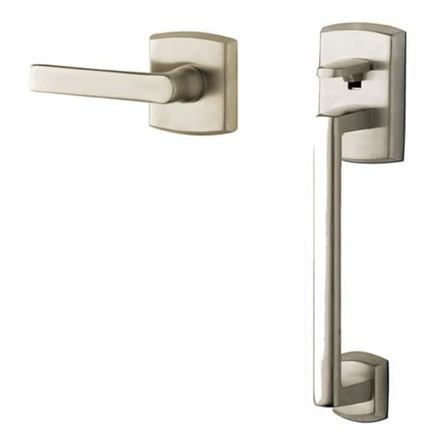 Baldwin 85386.ACRH Soho Sectional Entry Handle Set Kit with