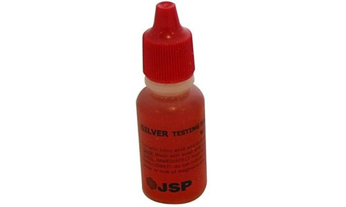 1 Bottle Silver Test Acid Testing Sterling Jewelry Solution Liquid Metal Tester