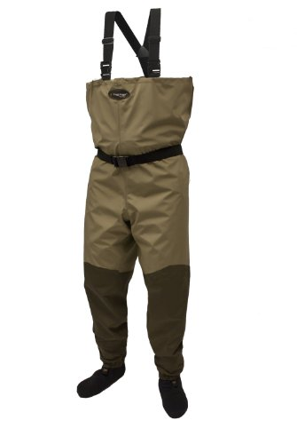 Frogg Toggs Canyon Breathable Stockingfoot Chest Wader, Khaki/Stone, Size Small