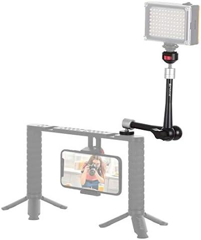 ビデオカメラ&ビーデルアクセサリー 11インチアルミニウム合金調整可能な関節摩擦魔法の腕