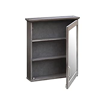 Threshold Wood Medicine Cabinet (Grey)