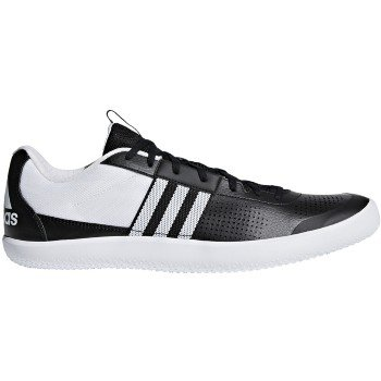 adidas Performance Men's Throwstar Running Shoe Core Black/White/Hi-Res Orange 7.5 M US