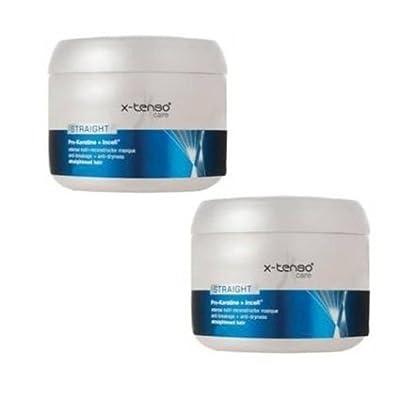 2 x loreal Professionnel X-tenso Care Straight Masque (200 Ml X 2)