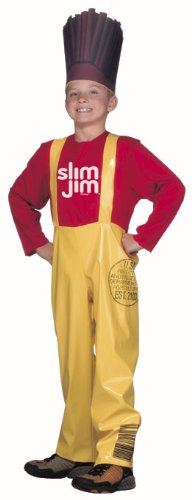 [Kid's Slim Jim Costume (Size:Medium 7-10)] (Slim Jim Halloween Costume)