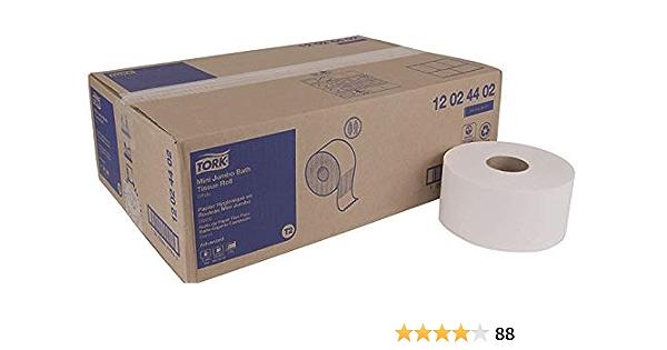 Tork 12024402 Rollo De Papel De Baño 2 Capas Color Blanco Health Personal Care Amazon Com