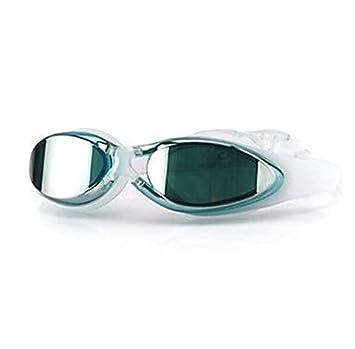 HMJ Gafas de Natación antivaho, Tamaño Ajustable, Lentes polarizadas Anti-UV, Impermeables