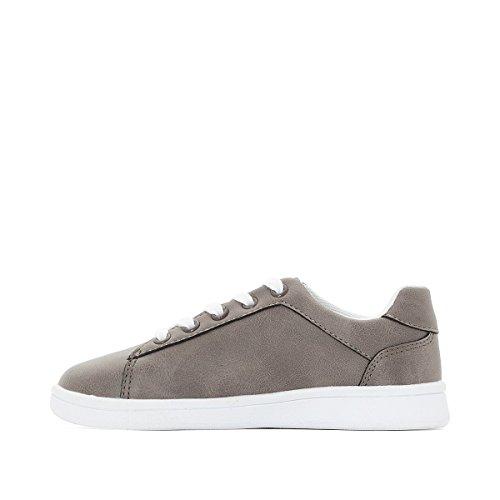 La Redoute Collections Jungen Flache Sneakers 2639 Gre 35 Grau