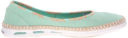 Columbia Damen Vulc N Vent Bettie Sneaker Mehrfarbig (Kelp/Bright Emerald)