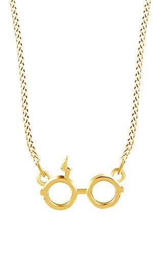 Jewel Zone US Harry Potter Glasses Charm Pendant Necklace ()
