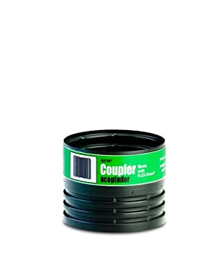 Flex-Drain 55020 Drain Pipe Coupler Adapter, Female to Female