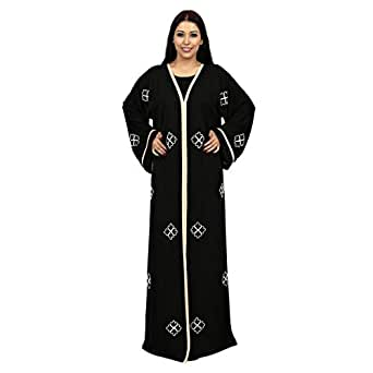 Farah Black Casual Abaya For Women