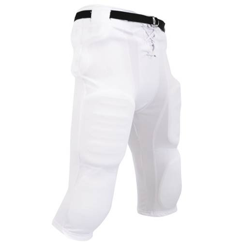 CHAMPRO Adult Adult Slotted Football Pant, Size: M, White