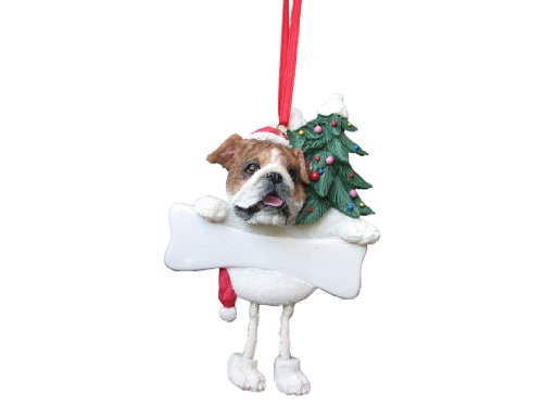 Bulldog Ornament with Unique