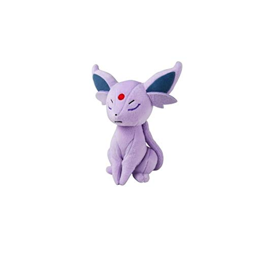 TOMY Pokemon Plush Figure Espeon 20 cm Peluches (Best Psychic Pokemon Crystal)