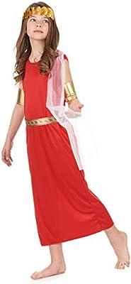 Disfraz de romana niña: Amazon.es: Juguetes y juegos