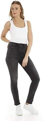 Levi`s Damen Hochbund Jeans 721 188820184 California Rebel 28/32