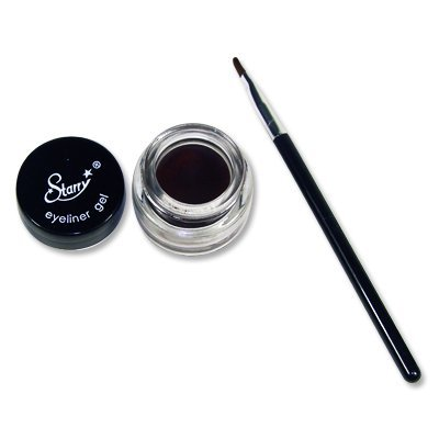The Perfect Makeup For Mature Skin Plus Application Tips - The Perfect Makeup For Mature Skin Plus Application Tips - Starry Long Lasting Waterproof Eyeliner Gel with Brush Choclate Brown by STARRY