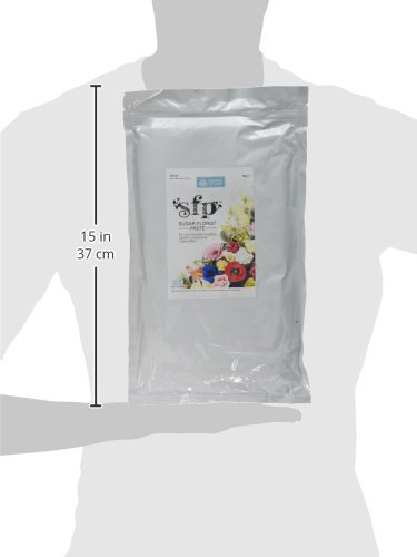 Squires Kitchen Sugar Floral Florist Paste SFP White Flower 1KG Bulk Pack