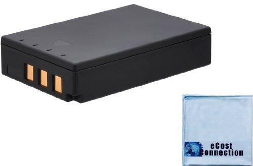 PS-BLS1 BLS-1 1800mAh Battery for Olympus Evolt E-400, E-410, E-420, E-450 E-620, PEN E-P1, E-P2, E-P3, E-PL1, E-PL3 Camera + Microfiber Cloth ()